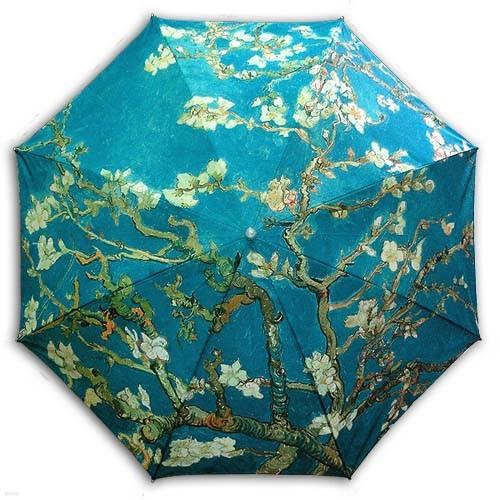 [ART] 고흐_아몬드나무 UV 자외선차단 양산