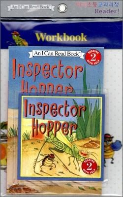 [I Can Read] Level 2-17 : Inspector Hopper (Workbook Set)