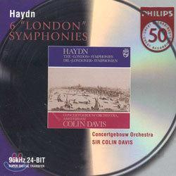 Haydn : Six 'London' Symphony : Concertgebouw OrchestraㆍSir Colin Davis
