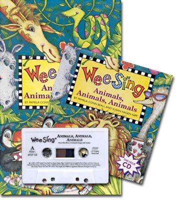 Wee Sing Animals, Animals, Animals, 25th anniversary (교재+CD+Tape)