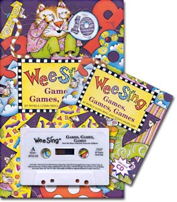Wee Sing Games, Games, Games, 25th anniversary (교재+CD+Tape)