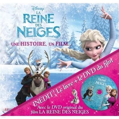 La Reine des Neiges 겨울왕국 프랑스판 (+DVD PAL)