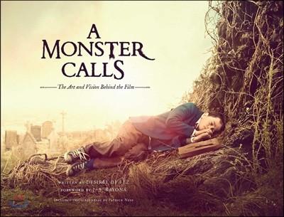 A Monster Calls 영화 '몬스터 콜' 공식 컨셉 아트북