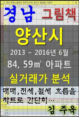 경남 양산시 84,59㎡ 아파트 매매, 전세, 월세 실거래가 분석 (2013 ~ 2016.6월)