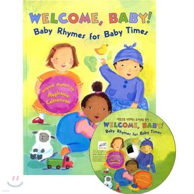 [노부영] Welcome Baby! Baby Rhymes for Baby Times (Paperback & CD Set)