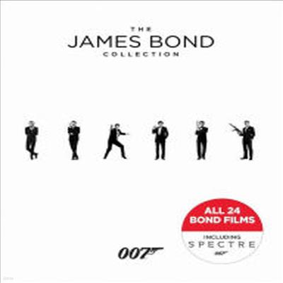 The James Bond Collection: Including 007 Spectre (더 제임스 본드 컬렉션) (한글무자막)(24Blu-ray)(Boxset)