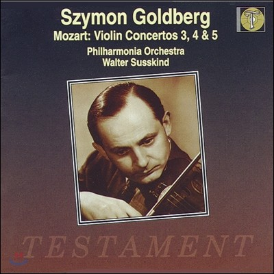 Szymon Goldberg 모차르트: 바이올린 협주곡 3 4 5번 (Mozart : Violin Concertos No3.4.5)