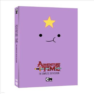 Adventure Time: The Complete Sixth Season (어드벤처 타임)(지역코드1)(한글무자막)(DVD)