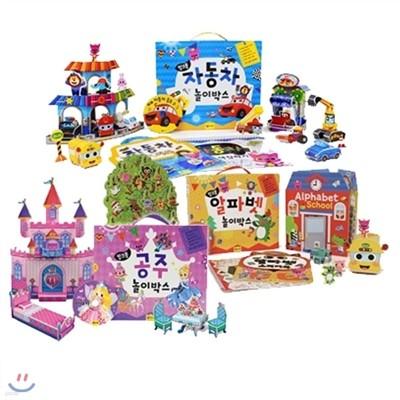 핑크퐁 놀이박스 3세트 : 인기만점 선물세트