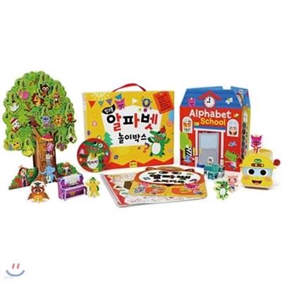 핑크퐁 놀이세트 - 알파벳 놀이박스 5종
