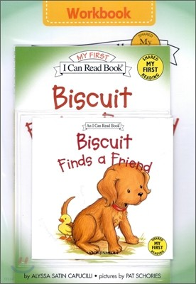 [I Can Read] My First : Biscuit Finds a Friend (Workbook Set)