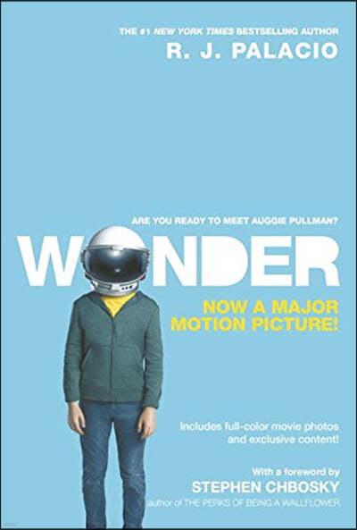 Wonder (Movie Tie In) 줄리아 로버츠 주연 영화 '원더' 원작 소설