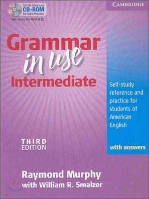 Grammar in Use Intermediate Student's Book with Answers: Self-Study Reference and Practice for Students of North American English [With CDROM]