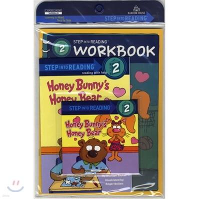 Step Into Reading 2 : Honey Bunny's Honey Bear (Book+CD+Workbook)