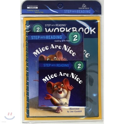 Step Into Reading 2 : Mice Are Nice (Book+CD+Workbook)