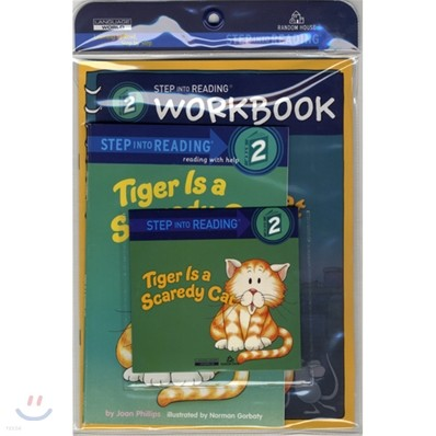 Step Into Reading 2 : Tiger Is a Scaredy Cat (Book+CD+Workbook)