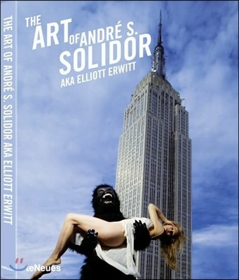 The Art of Andre S. Solidor A.k.a. Elliott Erwitt With Security Guards With Mannequin and Moose Photoprint