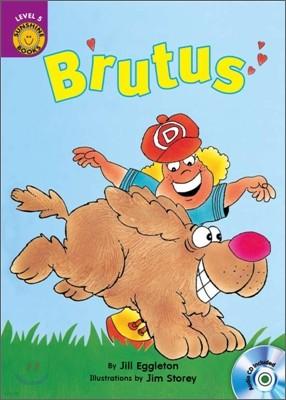 Sunshine Readers Level 5 : Brutus (Book & CD)