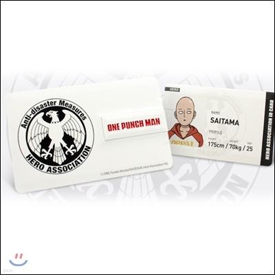 원펀맨 카드형 USB (32G) [히어로 협회 멤버 카드]