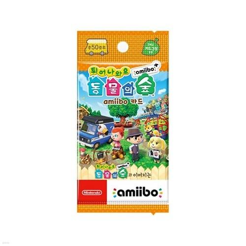 [닌텐도 아미보]튀어나와요 동물의 숲 amiibo+ amiibo 카드