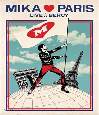 Mika (미카) - Mika ♥ Paris (Mika Loves Paris): Live At Bercy [Blu-Ray]