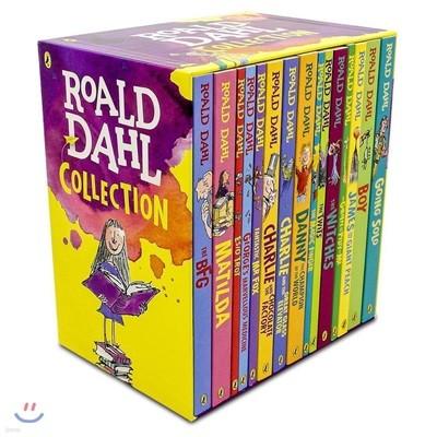로알드달 베스트 15종 박스 세트 (영국판) : Roald Dahl Collection Gift Set (개정판)