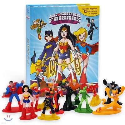 DC Girls Super Friends My Busy Book DC 걸즈 슈퍼 프렌즈 : 원더우먼, 캣우먼, 할리퀸, 슈퍼맨, 배트맨, 플래시맨 외