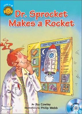 Sunshine Readers Level 3 : Dr. Sprocket Makes a Rocket (Book & Workbook Set)
