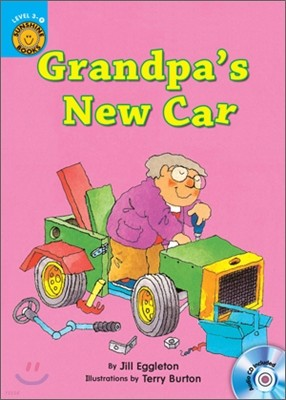 Sunshine Readers Level 3 : Grandpa's New Car (Book & Workbook Set)