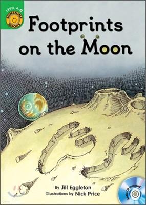Sunshine Readers Level 4 : Footprints on the Moon (Book & Workbook Set)
