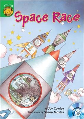 Sunshine Readers Level 4 : Space Race (Book & Workbook Set)