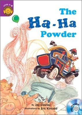 Sunshine Readers Level 5 : The Ha-Ha Powder (Book & Workbook Set)