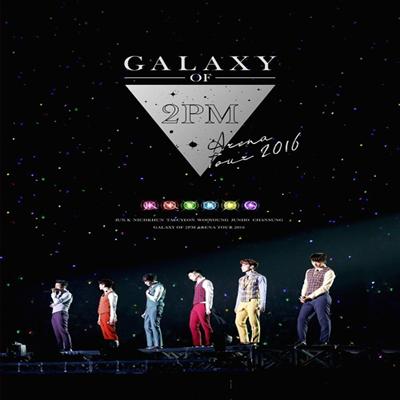 투피엠 (2PM) - Arena Tour 2016 Galaxy Of 2PM (지역코드2)(2DVD)