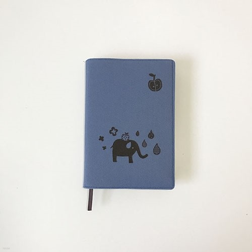 코끼리 북커버 8colors