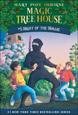 (Magic Tree House #5) Night of the Ninjas