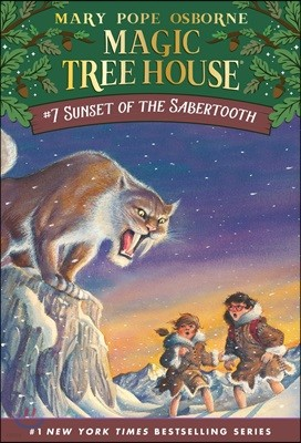 (Magic Tree House #7) Sunset of the Sabertooth