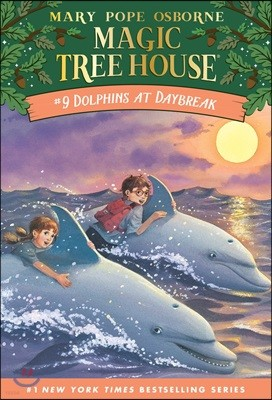 (Magic Tree House #9) Dolphins at Daybreak