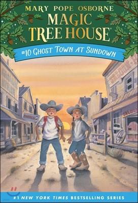 (Magic Tree House #10) Ghost Town at Sundown