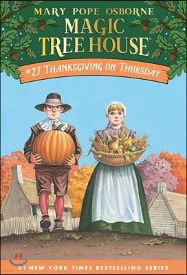 (Magic Tree House #27) Thanksgiving on Thursday