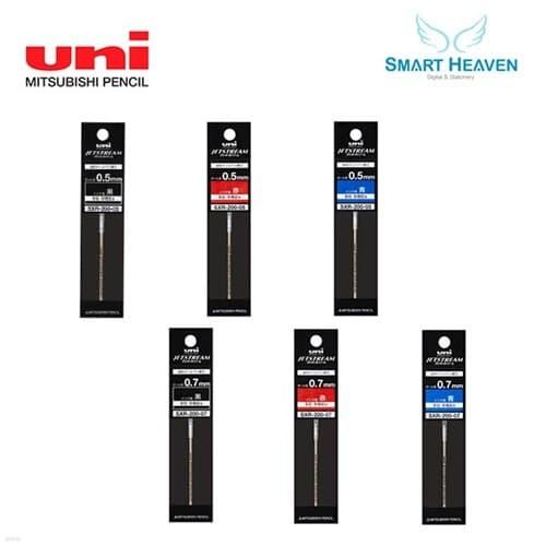 유니 제트스트림 프라임 3색 볼펜 리필심 SXR-200