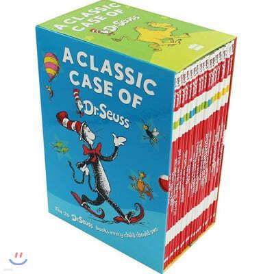 닥터수스 클래식 케이스 원서 그림책 페이퍼백 20권 세트 : A Classic Case of Dr. Seuss