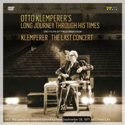 오토 클렘페러의 발자국과 마지막 마침표 - 다큐멘터리와 마지막 콘서트 (Otto Klemperer's Long Journey Through His Times - The Last Concert) (한글자막)(180g)(2LP + 2CD) (2016)(DVD) - Otto Klemperer