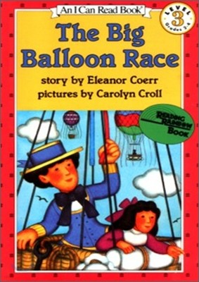 [I Can Read] Level 3-01 : The Big Balloon Race (Book & CD)