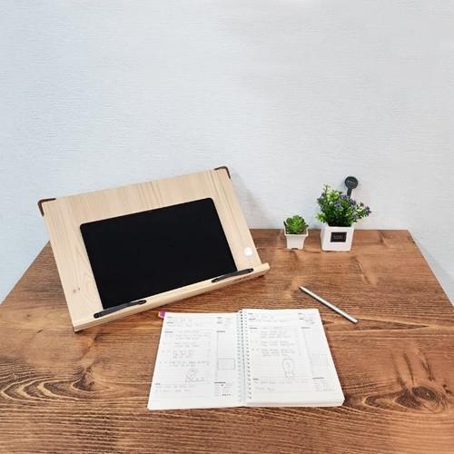 이앤위즈 아이디얼 독서대 40M1 각도조절 책받침대 인강용 북스탠드 책거치대 태블릿거치대