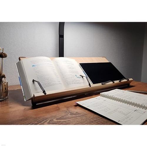 위즈독서대 트와이스 60M1 넓은면적 각도조절 독서대 책받침대 인강용 북스탠드 책거치대