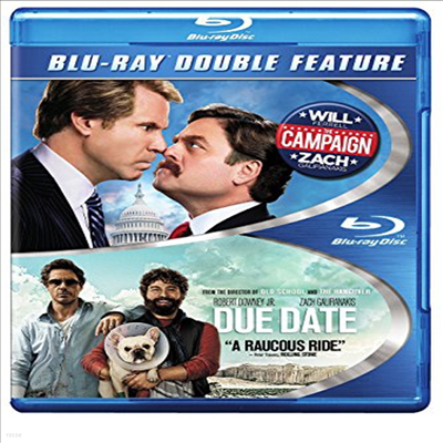 Campaign / Due Date (선거 캠페인/듀 데이트)(한글무자막)(Blu-ray)