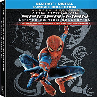 The Amazing Spider-Man 1 & 2: Limited Edition Collection (어메이징 스파이더맨 1 & 2) (한글무자막)(Blu-ray + Digital)