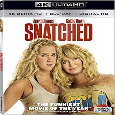 Snatched (스내치드) (2017) (한글무자막)(4K Ultra HD + Blu-ray + Digital HD)