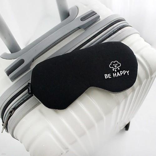 톡톡 수면안대 Be happy