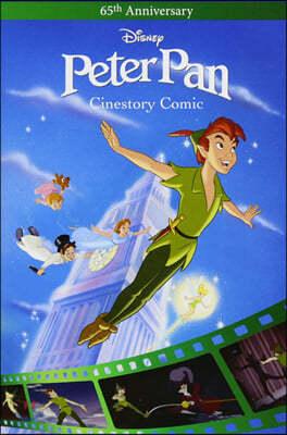 디즈니 시네스토리 코믹 : 피터팬 Disney Peter Pan Cinestory Comic